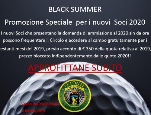 BLACK SUMMER 2020